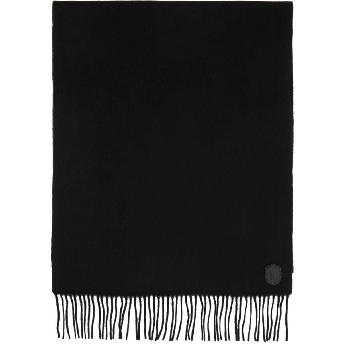 Mackage Black Wool Luki Scarf Ssense USA MEN Men ACCESSORIES Mens SCARFS