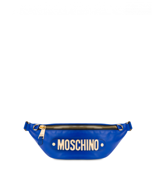 Macro-waist Bag With Lettering Logo Moschino UK WOMEN Women ACCESSORIES Womens BAGS