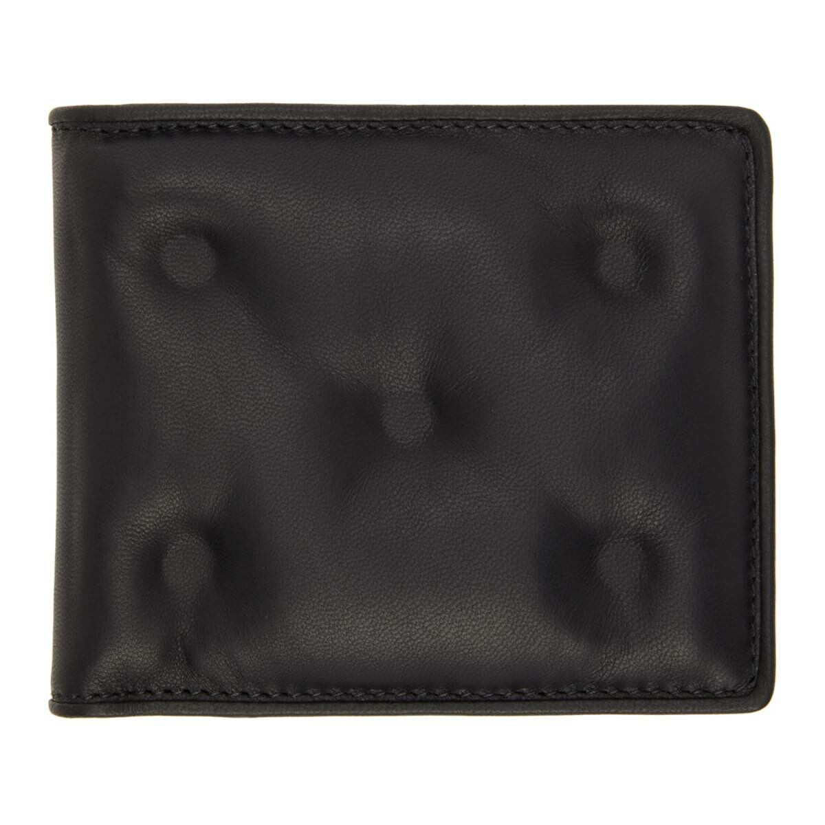 Maison Margiela Black Glam Slam Wallet Ssense USA MEN Men ACCESSORIES Mens WALLETS