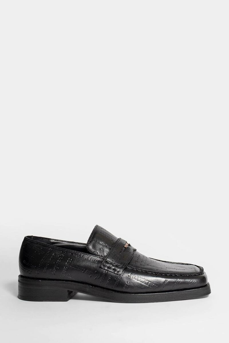 Martine Rose Loafers Black Men Antonioli USA MEN