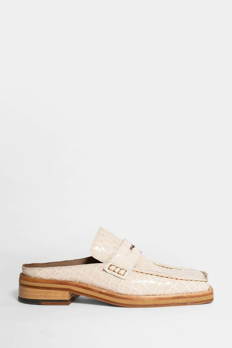 Martine Rose Loafers White Women Antonioli USA WOMEN
