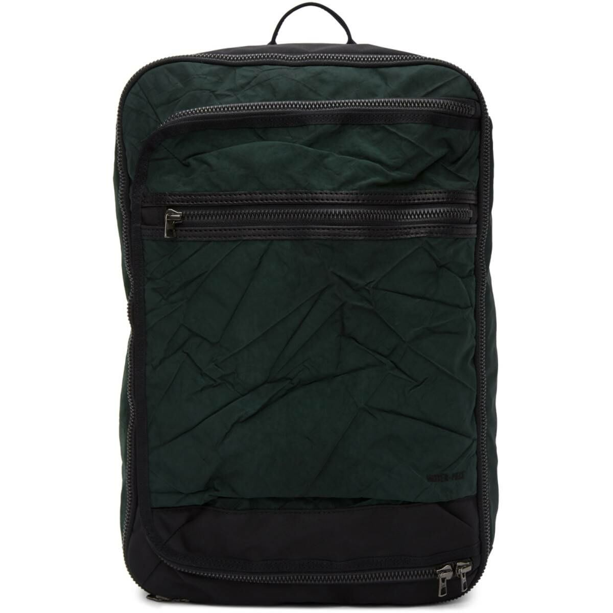 Master-Piece Co Khaki Rebirth Project Edition Recycled Airbag Backpack Ssense USA MEN Men ACCESSORIES Mens BAGS