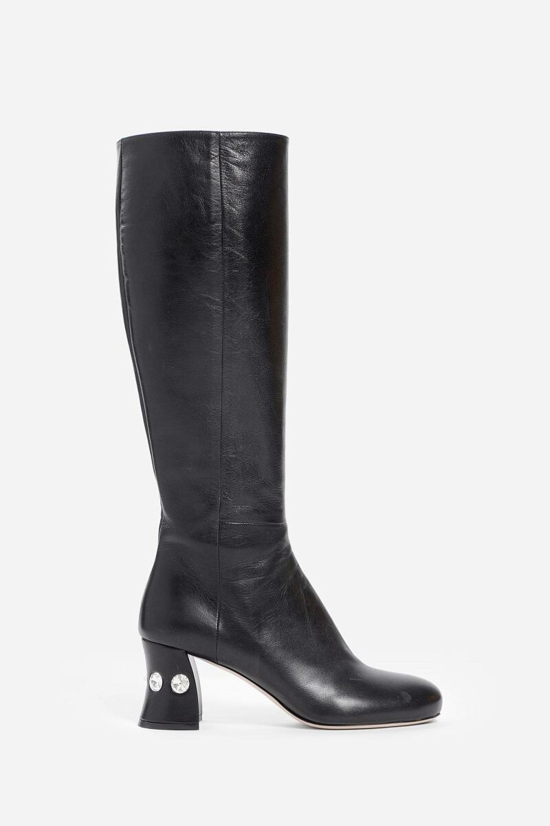 Miu Miu Boots Woman Black Antonioli UK WOMEN