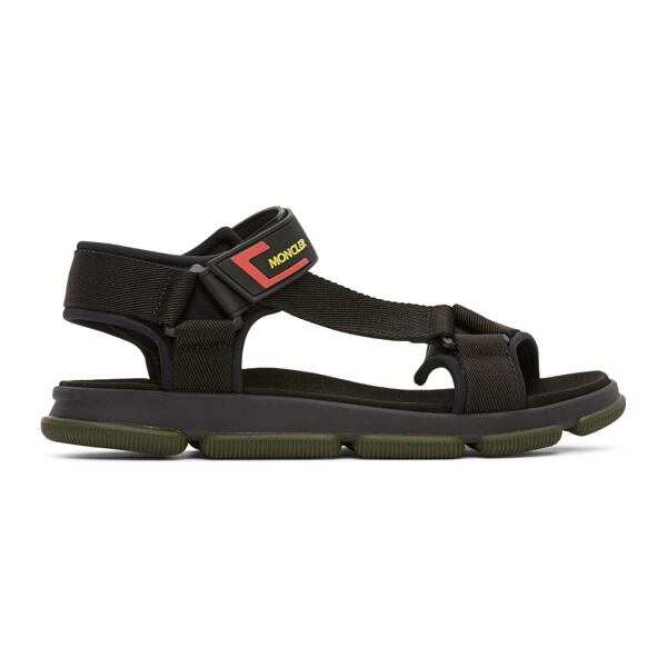 Moncler Black Simeon Sandals Ssense USA MEN Men SHOES Mens SANDALS