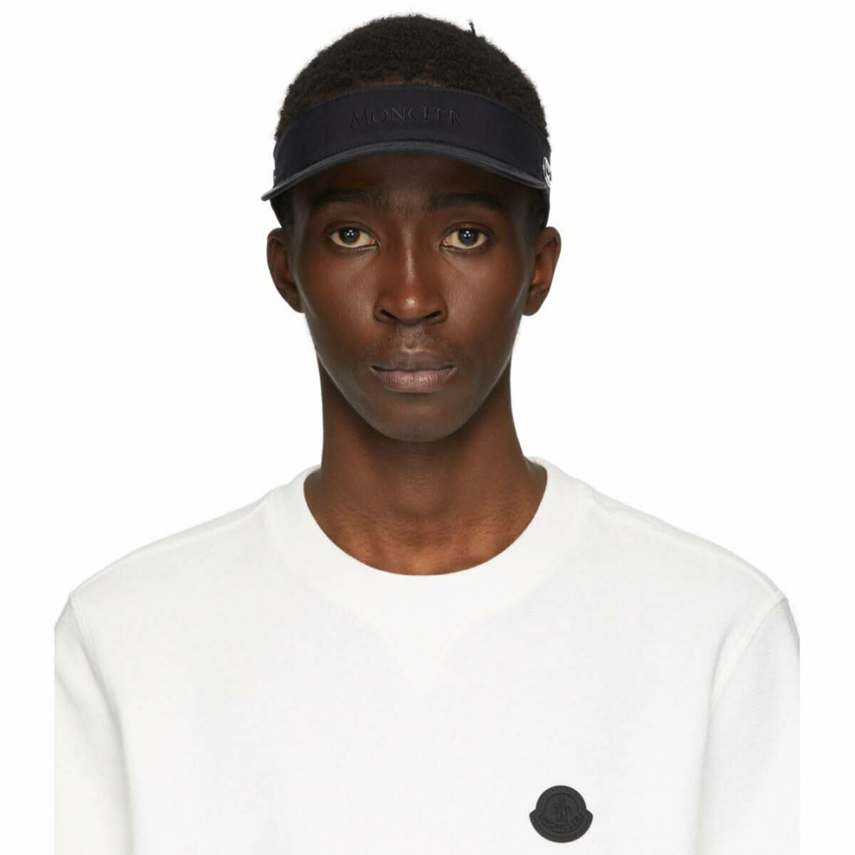 Moncler Black Tennis Cap Ssense USA MEN Men ACCESSORIES Mens CAPS