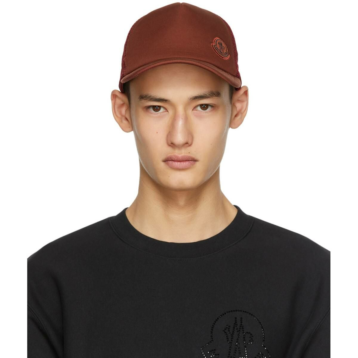 Moncler Genius 2 Moncler 1952 Brown Baseball Cap Ssense USA MEN Men ACCESSORIES Mens CAPS