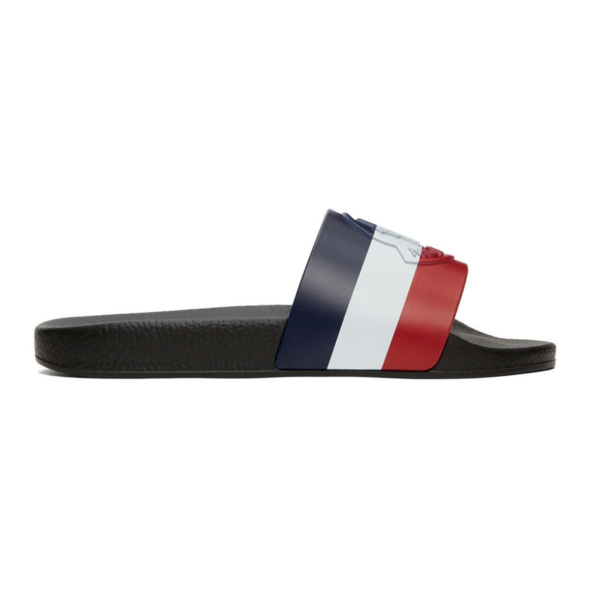 Moncler Multicolor Basile Slides Ssense USA MEN Men SHOES Mens SANDALS