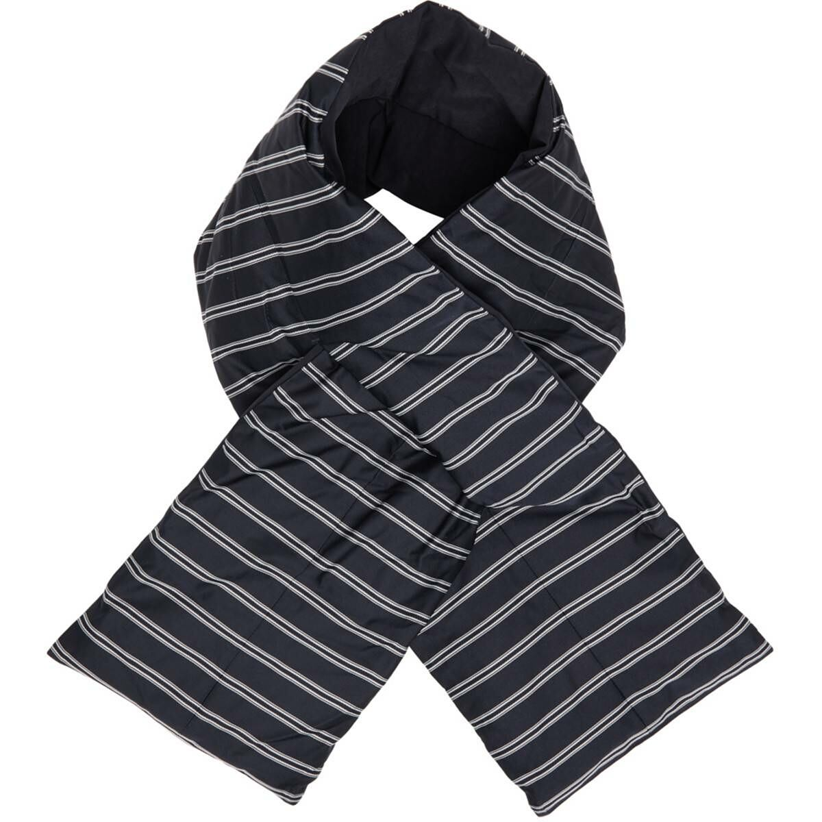 Nanamica Navy Down Striped Muffler Scarf Ssense USA MEN Men ACCESSORIES Mens SCARFS