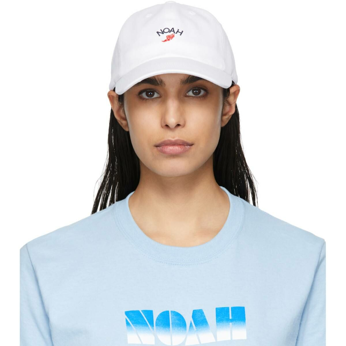 Noah NYC White Winged Foot Cap Ssense USA WOMEN Women ACCESSORIES Womens CAPS