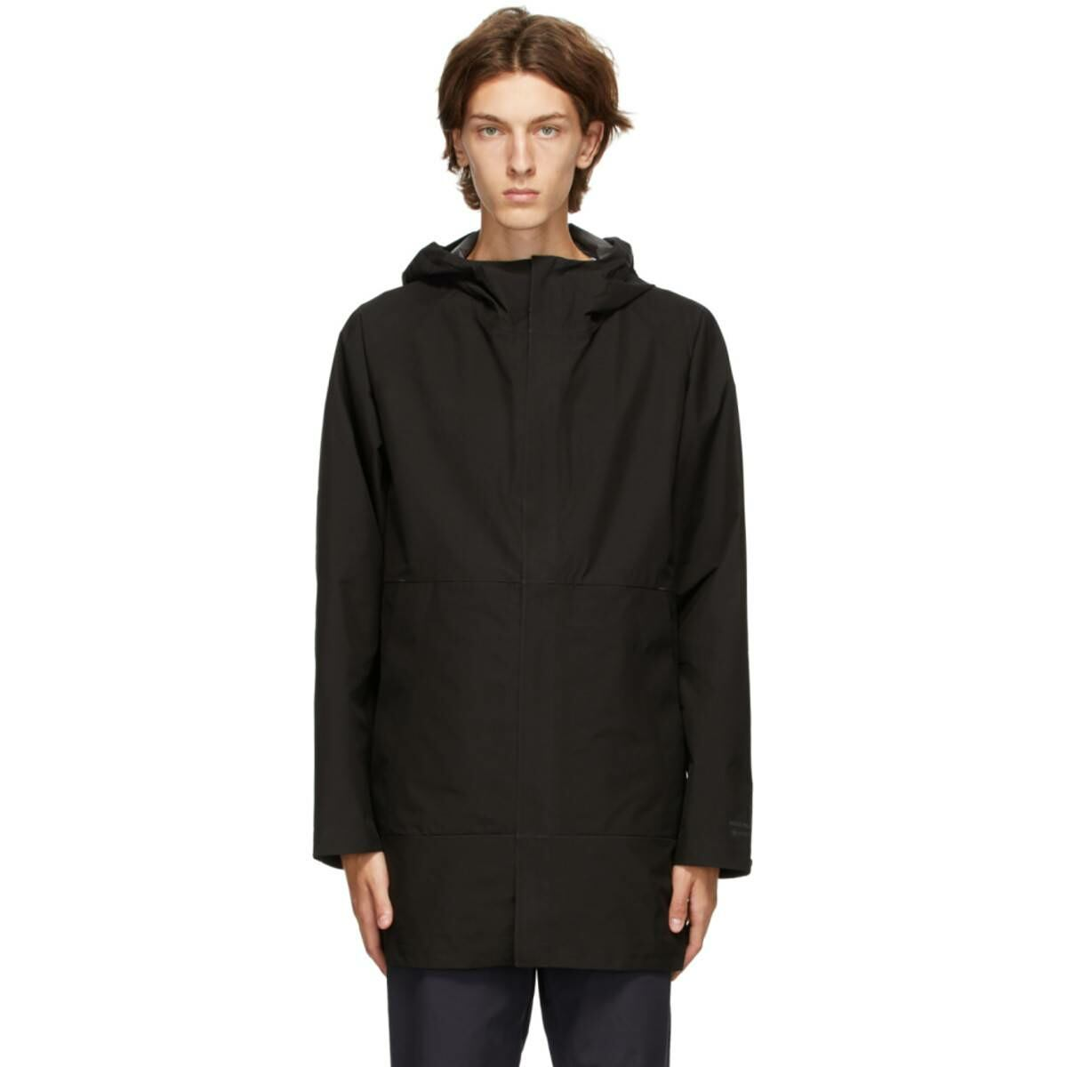Norse Projects Black Gore-Tex® Bergen Coat Ssense USA MEN Men FASHION Mens COATS