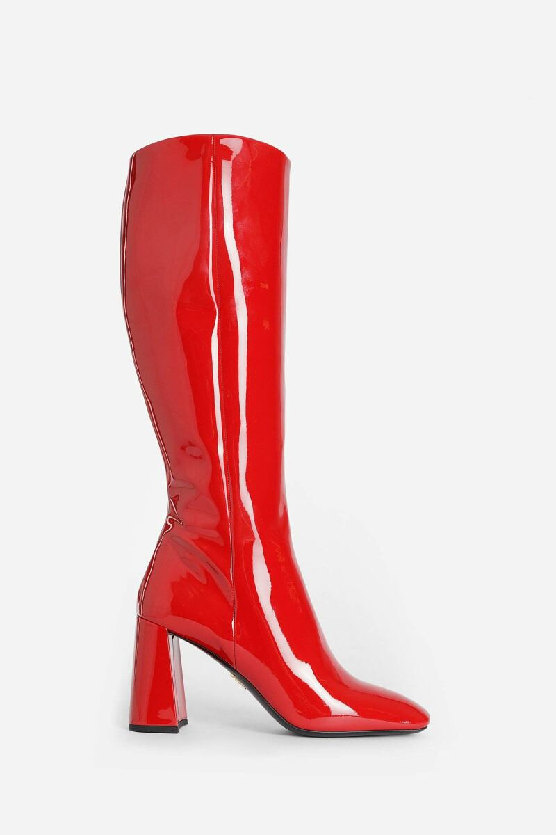 Prada Boots Woman Red Antonioli UK WOMEN