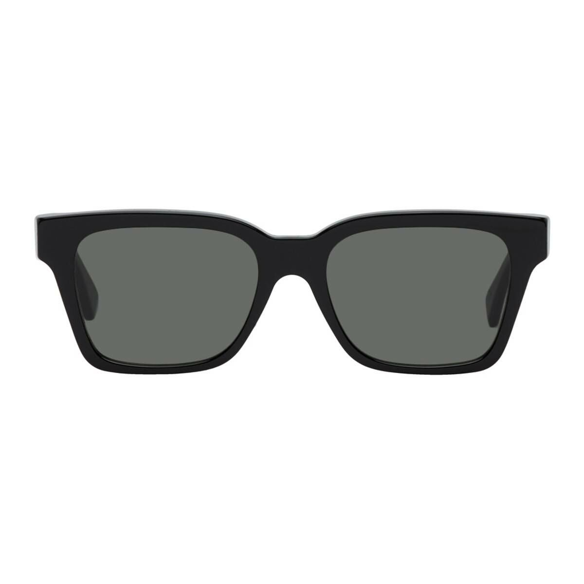 RETROSUPERFUTURE Black America Square Sunglasses Ssense USA MEN Men ACCESSORIES Mens SUNGLASSES
