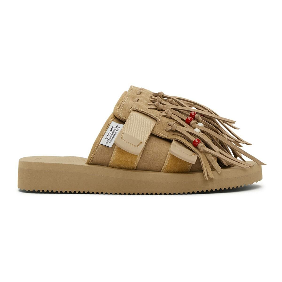 Suicoke Beige HOTO Scab Sandals Ssense USA MEN Men SHOES Mens SANDALS