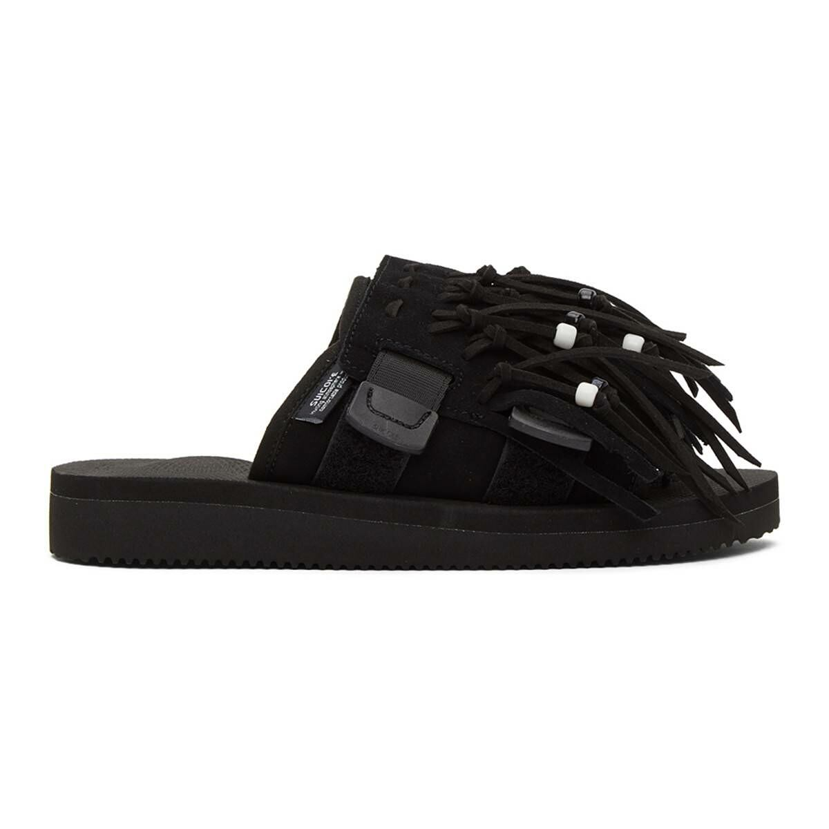 Suicoke Black HOTO Scab Sandals Ssense USA MEN Men SHOES Mens SANDALS