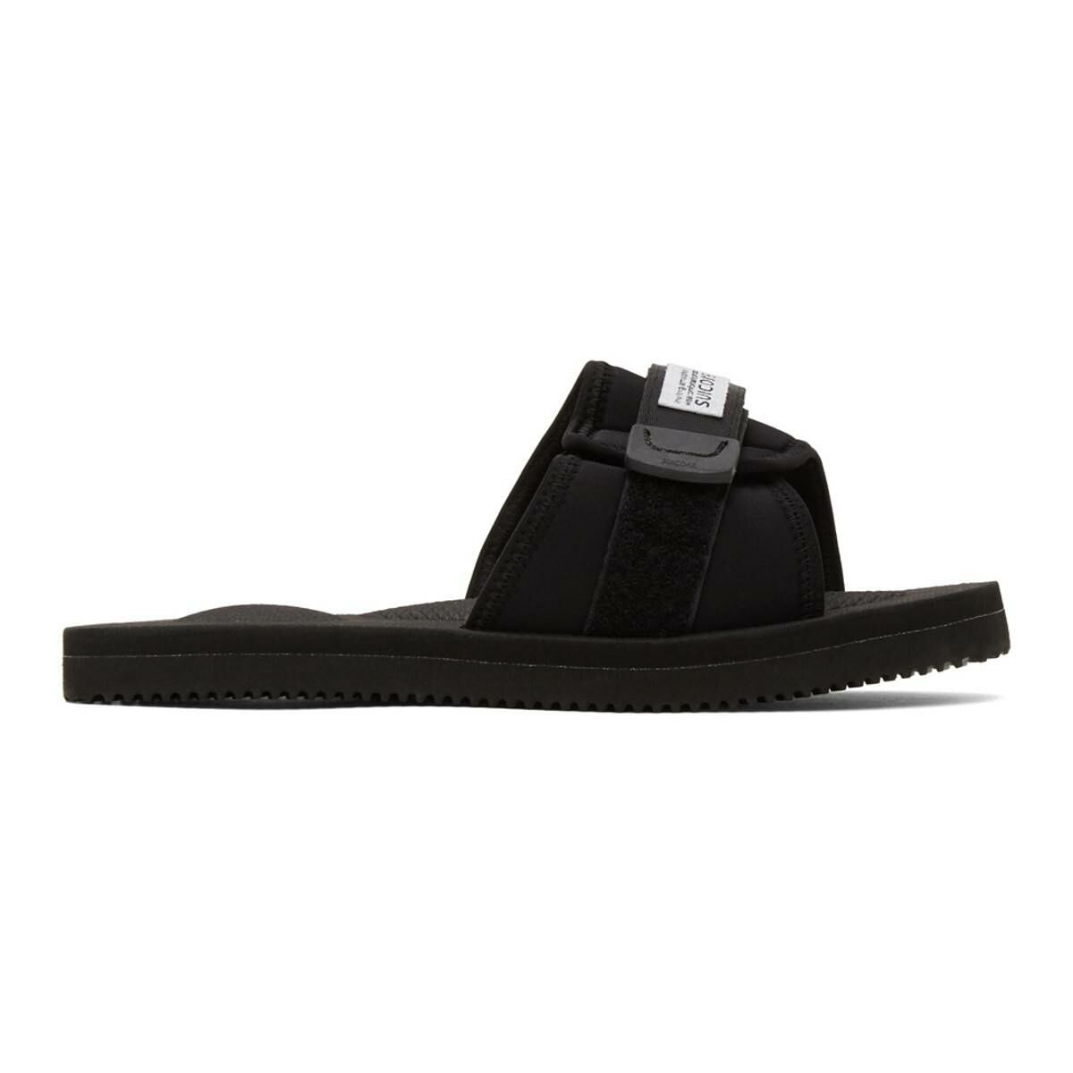 Suicoke Black Padri Sandals Ssense USA MEN Men SHOES Mens SANDALS