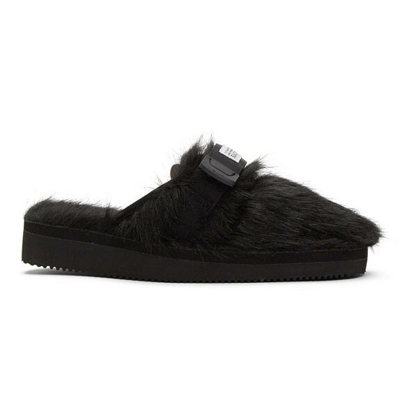 Suicoke Black ZAVO-2EU Sandals Ssense USA MEN Men SHOES Mens SANDALS