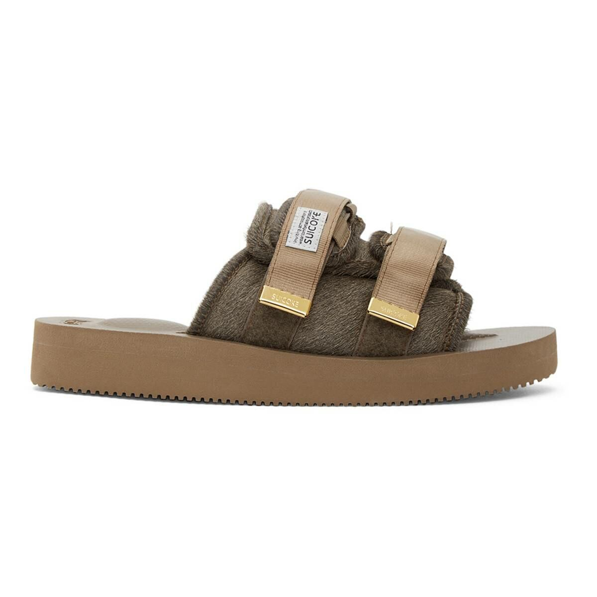 Suicoke Brown MOTO-VHL Sandals Ssense USA MEN Men SHOES Mens SANDALS