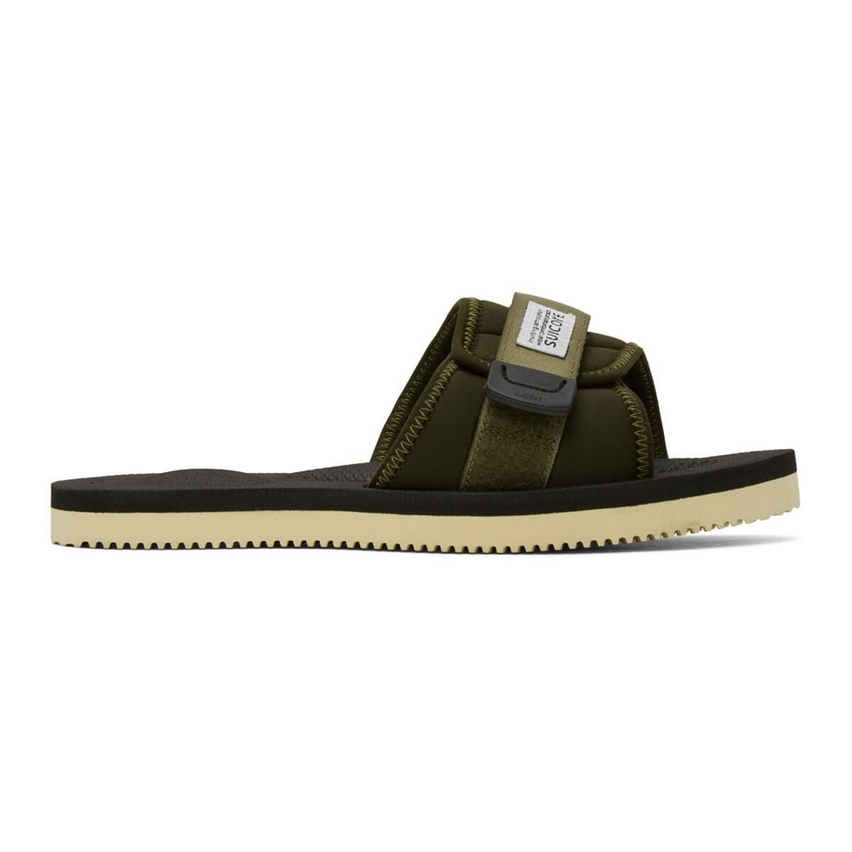 Suicoke Green Padri Sandals Ssense USA MEN Men SHOES Mens SANDALS