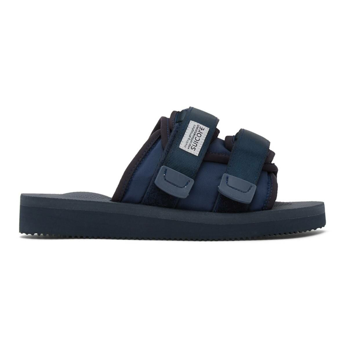 Suicoke Navy Moto-CAB Sandals Ssense USA MEN Men SHOES Mens SANDALS