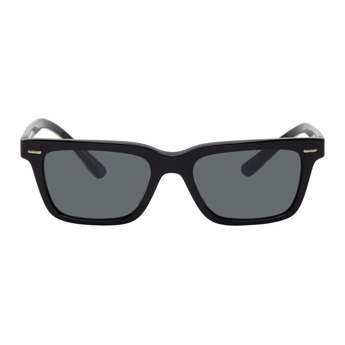 The Row Black and Gold Oliver Peoples Edition BA CC Glasses Ssense USA MEN Men ACCESSORIES Mens SUNGLASSES