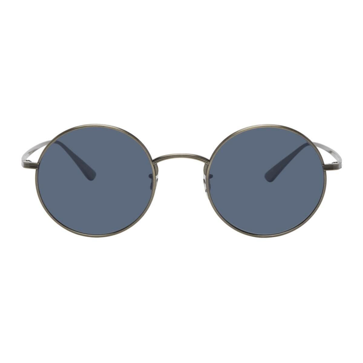 The Row Gunmetal Oliver Peoples Edition After Midnight Sunglasses Ssense USA MEN Men ACCESSORIES Mens SUNGLASSES