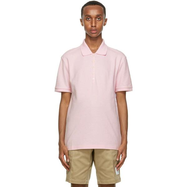 Thom Browne Pink 4-Bar Stripe Polo Ssense USA MEN Men FASHION Mens POLOSHIRTS