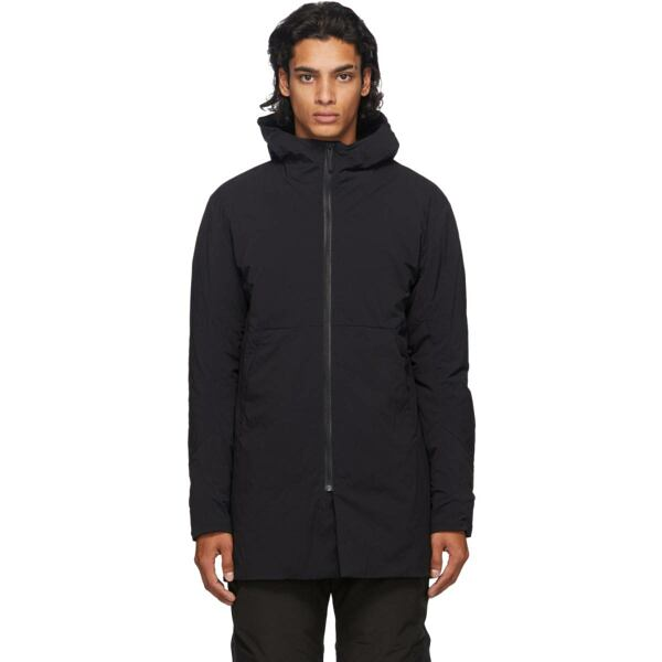 Veilance Black Mionn IS Coat Ssense USA MEN Men FASHION Mens COATS