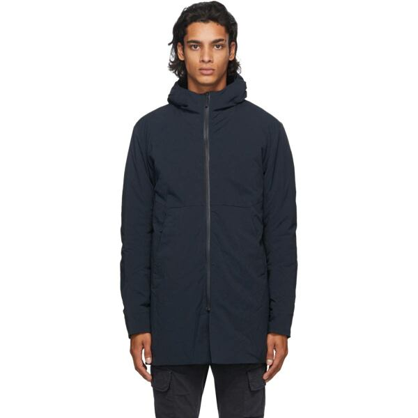 Veilance Navy Mionn IS Coat Ssense USA MEN Men FASHION Mens COATS