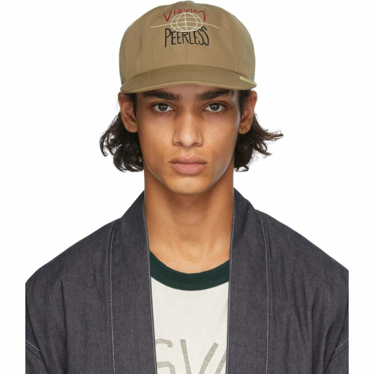 Visvim Beige Excelsior Cap Ssense USA MEN Men ACCESSORIES Mens CAPS