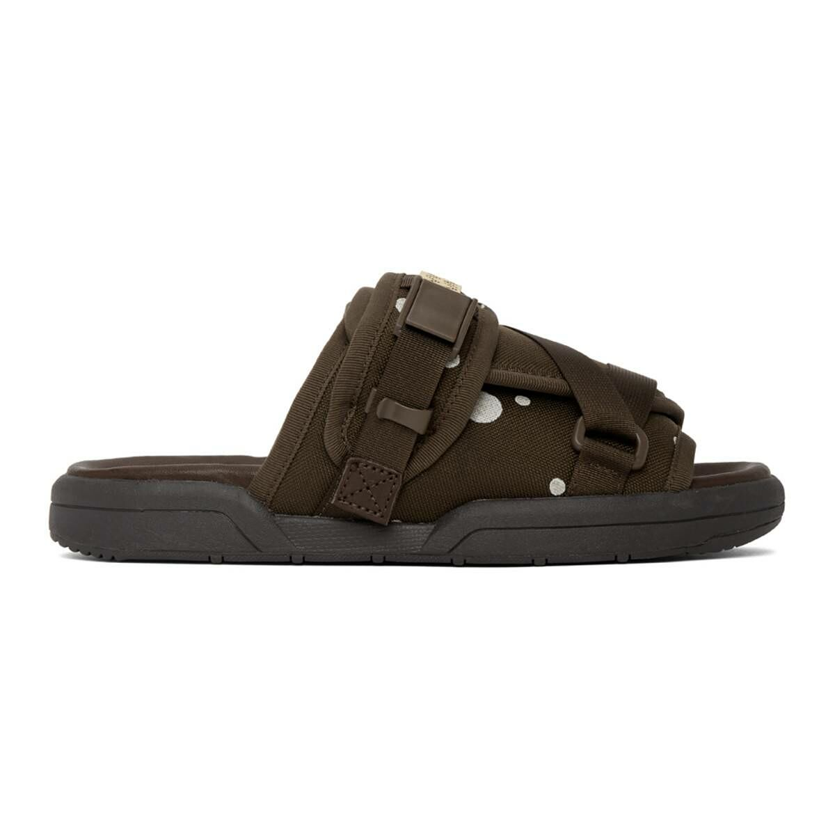 Visvim Brown Christo Sandals Ssense USA MEN Men SHOES Mens SANDALS