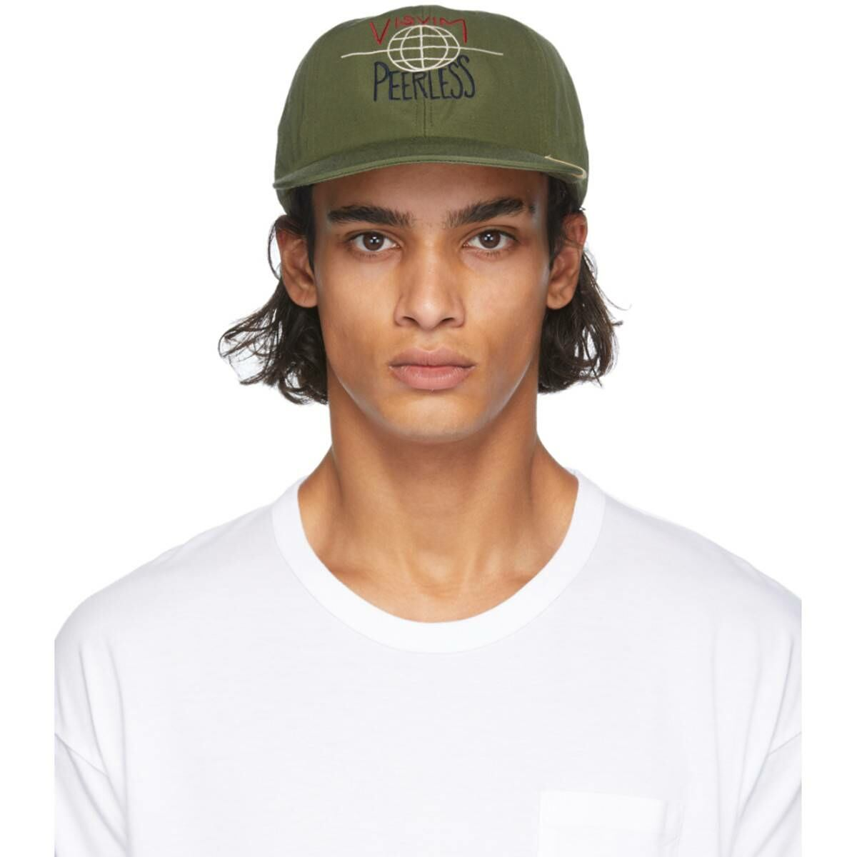 Visvim Green Excelsior Cap Ssense USA MEN Men ACCESSORIES Mens CAPS