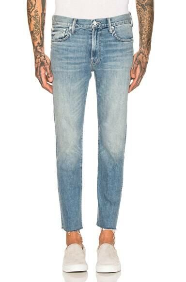 Weekend Garage MOTHER The Joint Ankle Fray Jean Forward USA MEN