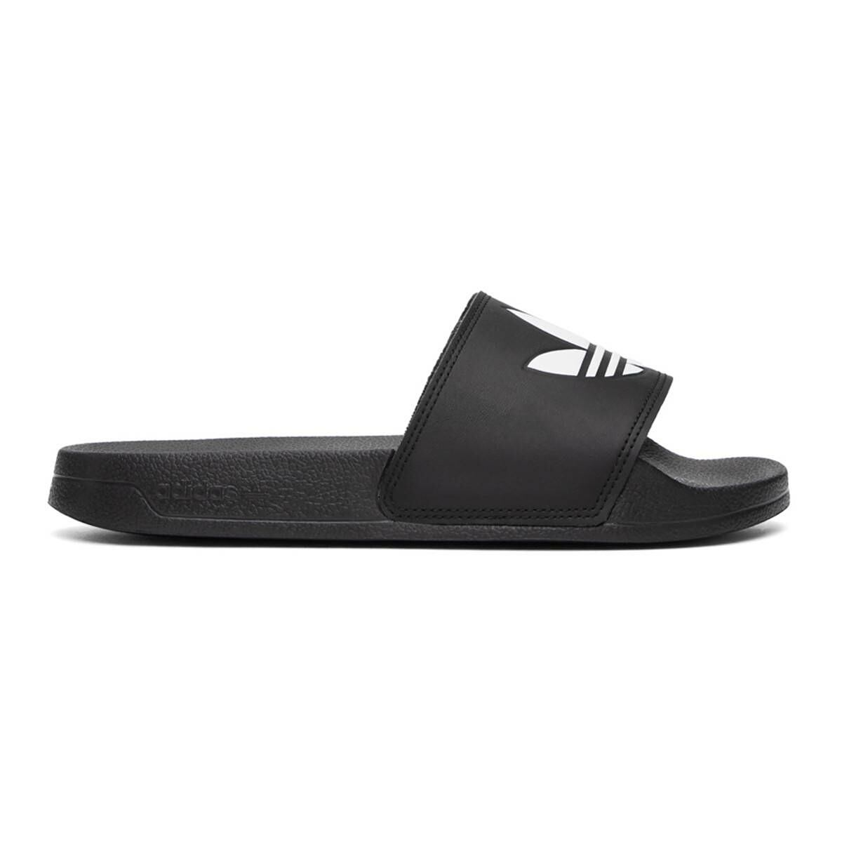adidas Originals Black Adilette Lite Pool Slides Ssense USA MEN Men SHOES Mens SANDALS