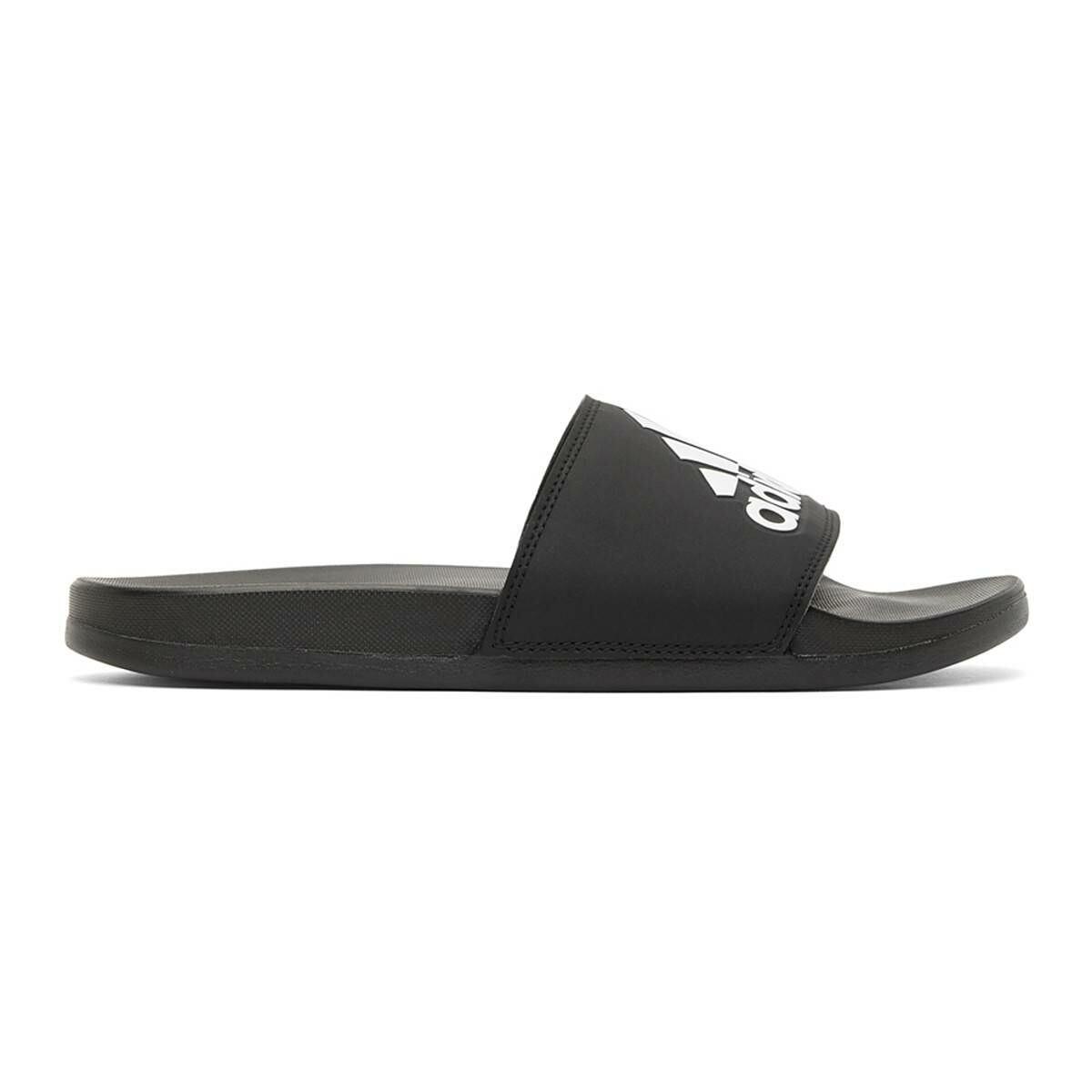 adidas Originals Black and White Adilette Comfort Slides Ssense USA MEN Men SHOES Mens SANDALS