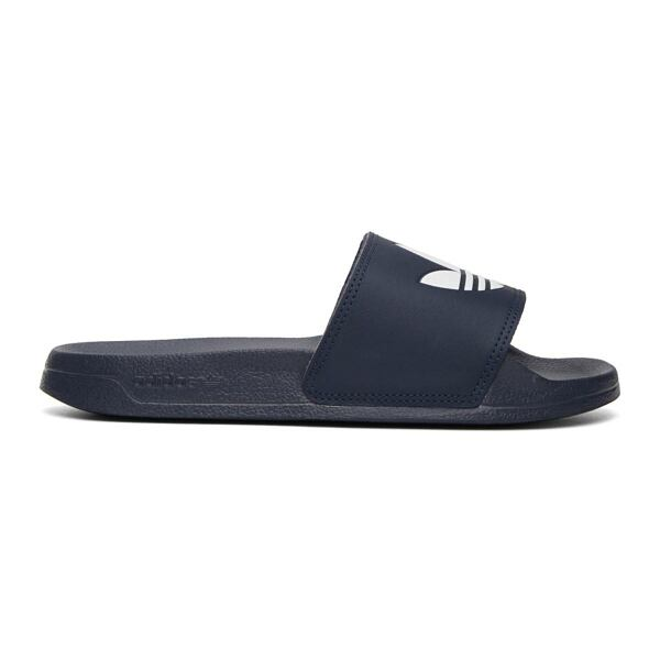 adidas Originals Navy Adilette Lite Pool Slides Ssense USA MEN Men SHOES Mens SANDALS