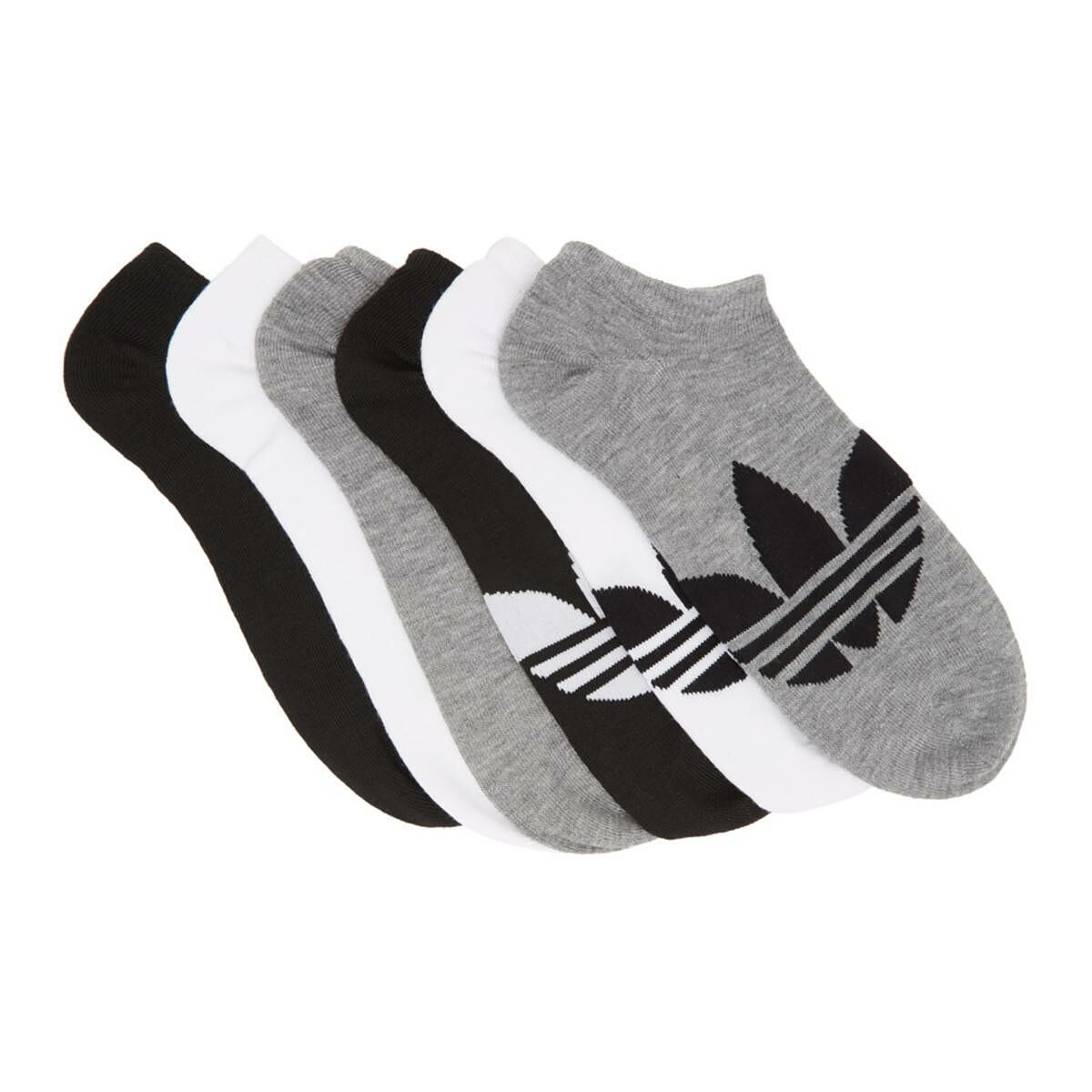 adidas Originals Six-Pack Multicolor Solid Ankle Socks Ssense USA MEN Men ACCESSORIES Mens SOCKS