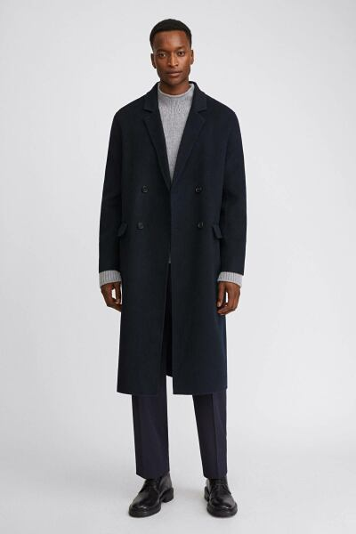 Athens Coat Man Navy MEN