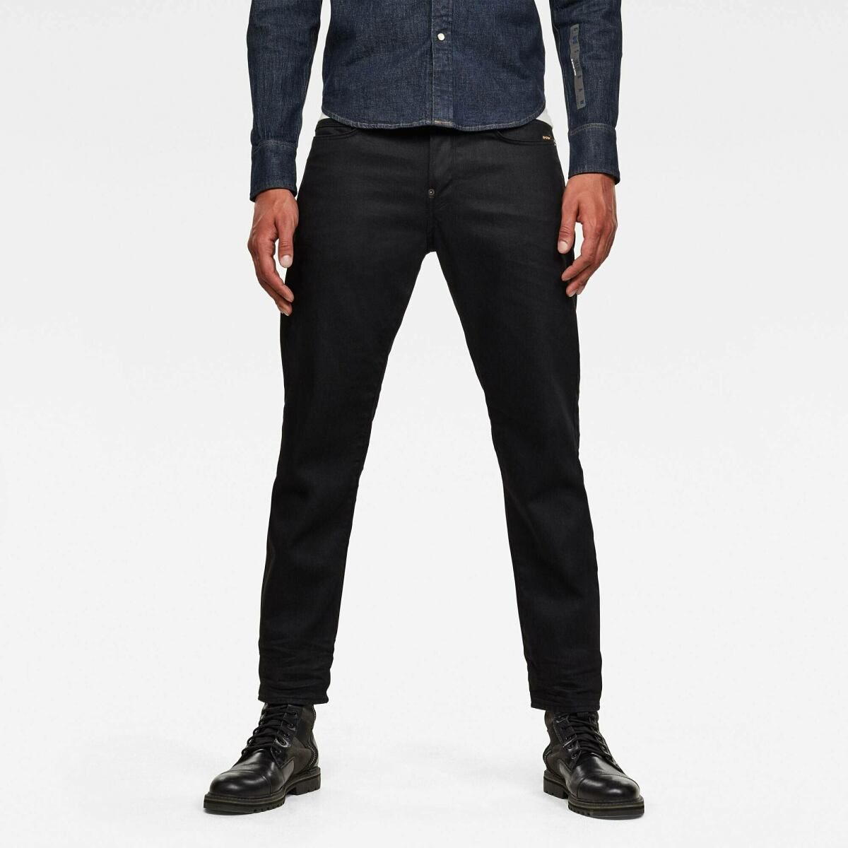 Black Man Jeans Alum Relaxed Tapered Originals Jeans G-Star MEN