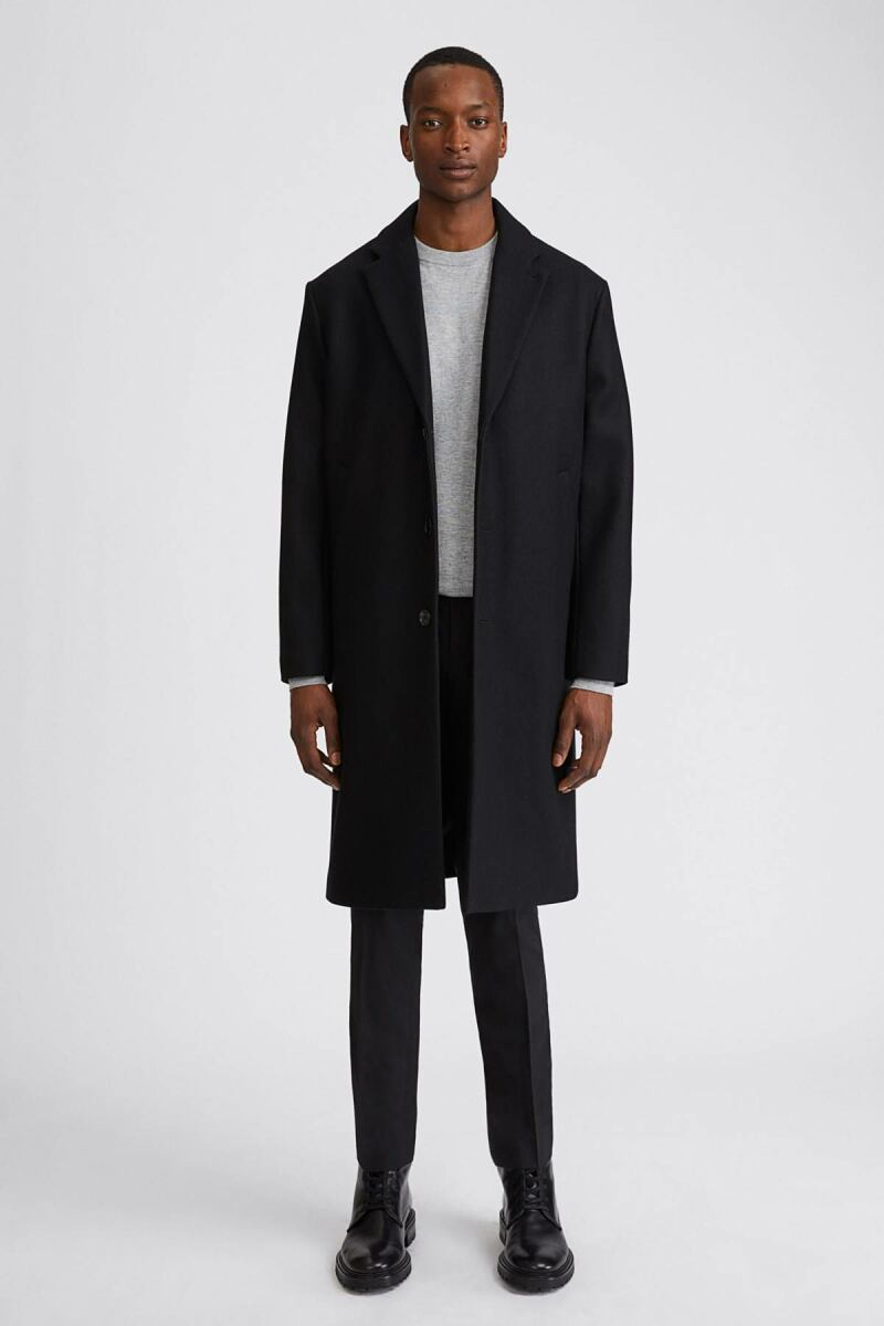 Black Men London Coat Filippa K DK MEN