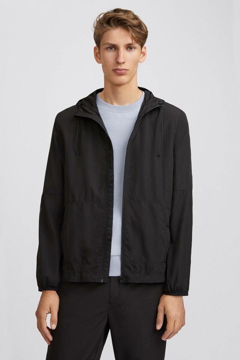Black Sintra Men Jacket Filippa K NO MEN