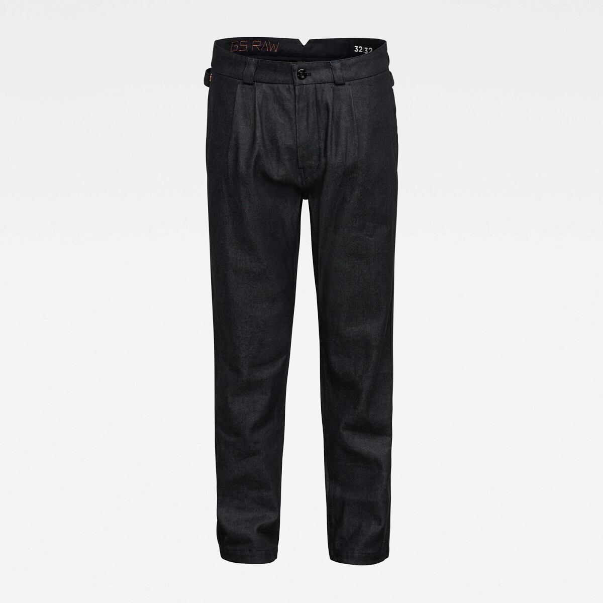 Dark blue Man Pants Varve Relaxed Pleated Chino G-Star MEN
