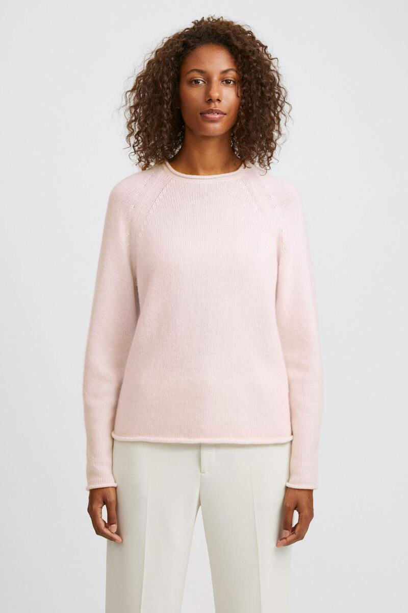 Faded Pink Dahlia Women Sweater Filippa K NO WOMEN