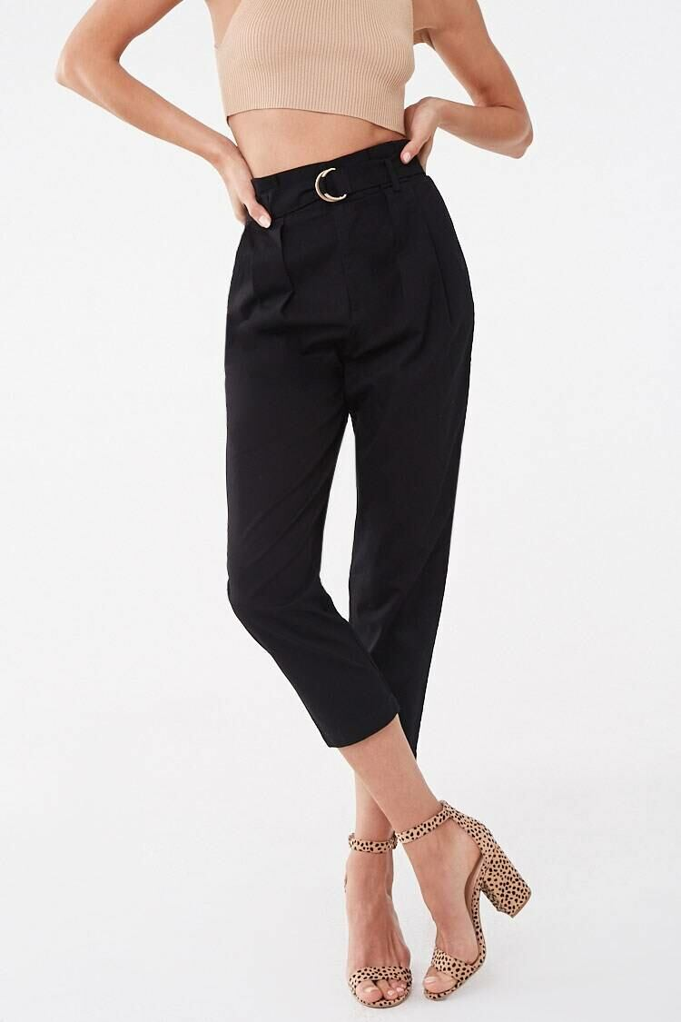 Forever 21 Black The Jackie Pants WOMEN Women FASHION Womens TROUSERS