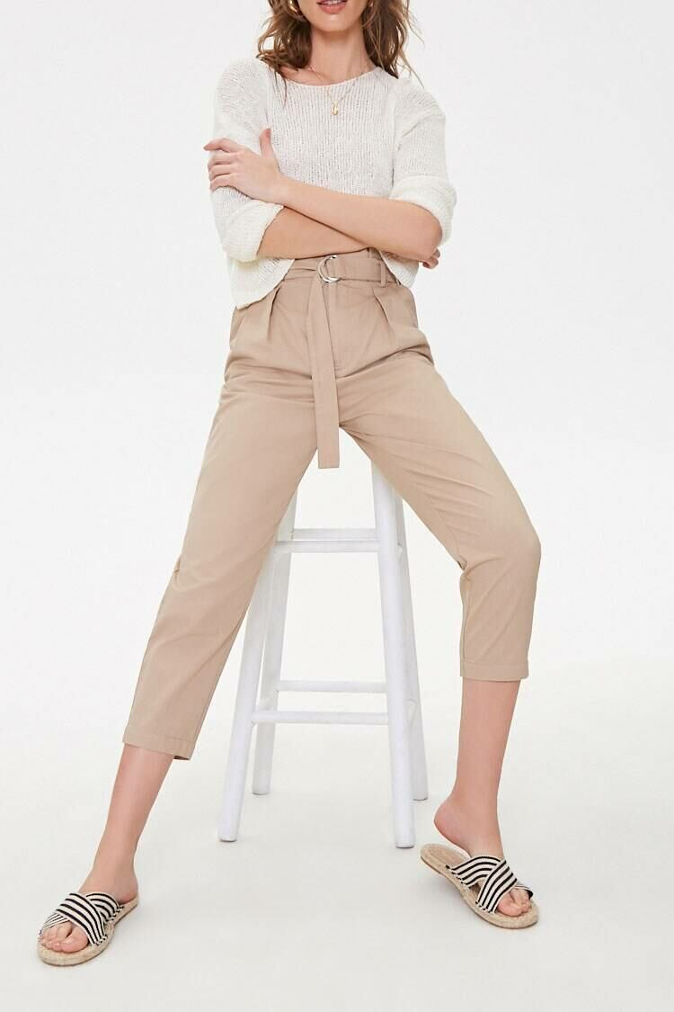 Forever 21 Brown The Jackie Pants WOMEN Women FASHION Womens TROUSERS