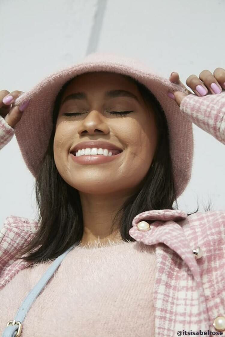 Forever 21 Pink Brushed Bucket Hat WOMEN Women ACCESSORIES Womens HATS