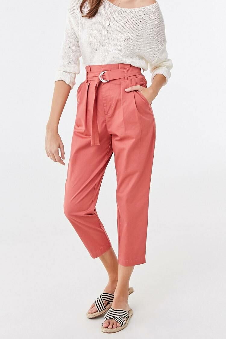 Forever 21 Pink The Jackie Pants WOMEN Women FASHION Womens TROUSERS