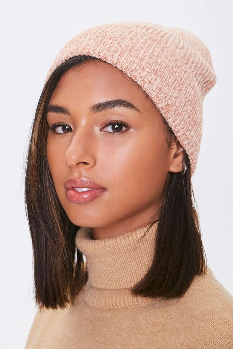 Forever 21 Ref Heathered Ribbed Knit Beanie WOMEN Women ACCESSORIES Womens HATS