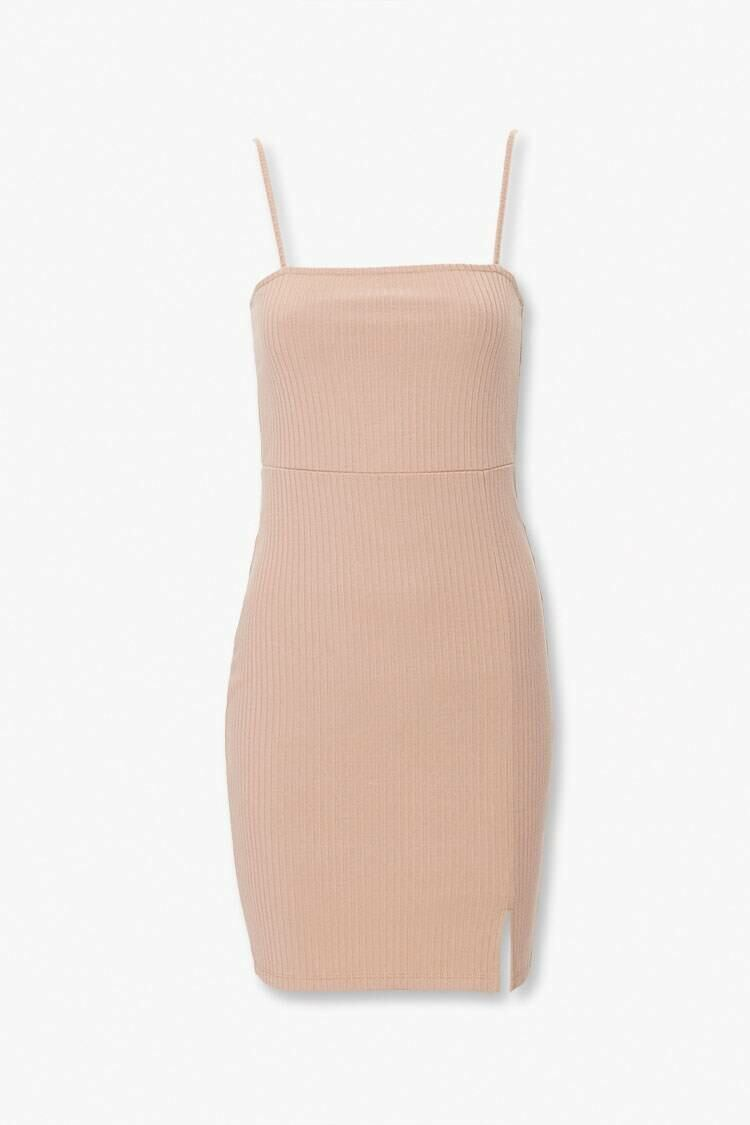 Forever 21 Taupe Bodycon Cami Dress WOMEN Women FASHION Womens DRESSES
