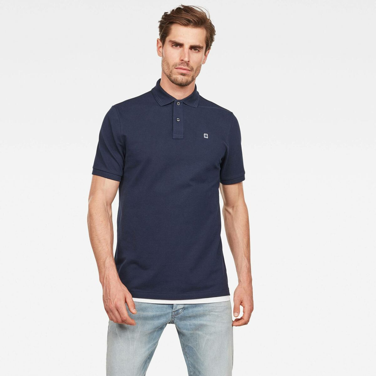 G-Star Men Dark blue Dunda Polo Polos Slim MEN