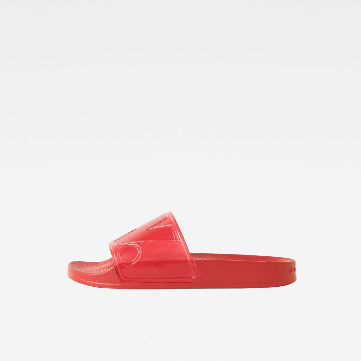 G-Star Women Red Cart Slide Ii Transparent Shoes WOMEN